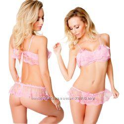 Нежный розовый комплект Carolyn