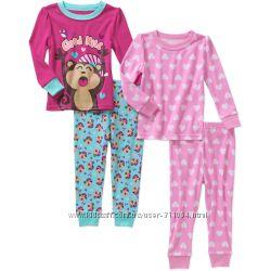 Акция-10 Пижамы хлопковые из Америки на 12м-18м-24м-2-3-4-5-6-7лет
