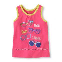 Распродажа Ультра-яркие футболки, топы CHILDRENS PLACE, CRAZY8