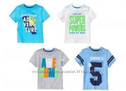 Яркие футболки Crazy8 мальчикам 4-5 лет