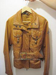 Итальянская кожаная куртка