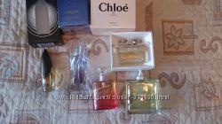 Продам парфюмерию DIOR, VERSACE, LANCOME, CHLOE, Naomi Campbell