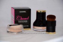 Пудра рассыпчатая Chanel  кисть