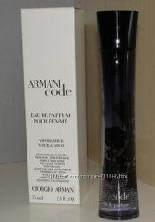 Armani Code Women edp 75 ml тестер