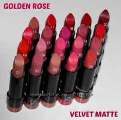 Губная помада Golden Rose  Velvet Matte Lipstick