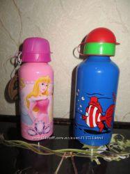 Бутылочки для спорта и отдыха  алюминевые