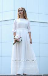Белое платье на венчание