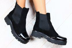 Ботинки натур кожа