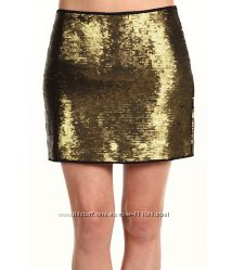 BCBG Max Azria sequin skirt юбка размер 4 оригинал