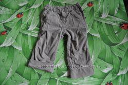 Вельветовые штанишки 12-18 месяцев