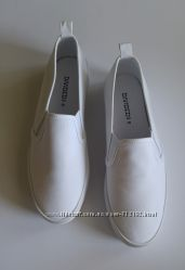 Слипоны белые H&M