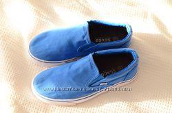 Туфли кожаные Next р-р 32-33, слипоны, р-р-34