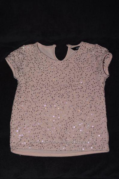 Блузы и футболочки на 4-6 лет