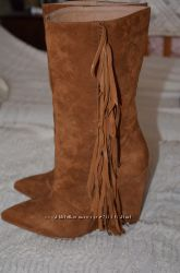 Замшевые сапожки, 39-40 и ботиночки Asos, размер 39