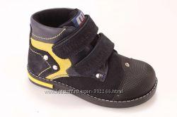 Ботиночки  MINIMEN на мальчика, флис 18-30 размеры