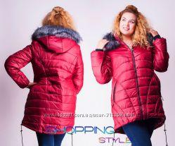 Красивые куртки женские осень до 52 размера
