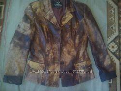Куртка кожаная размер L-M