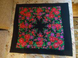 Красивые шерстяные платки от бабушки