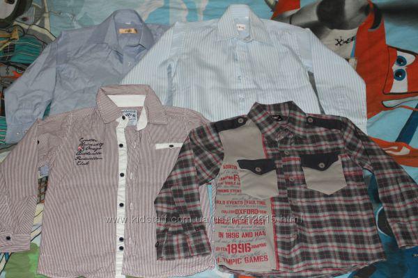 Рубашечки на мальчика разные