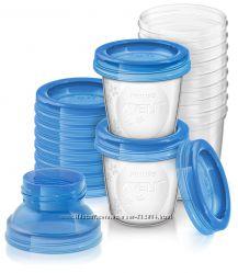 Philips Avent набор контейнеров для хранения грудного молока