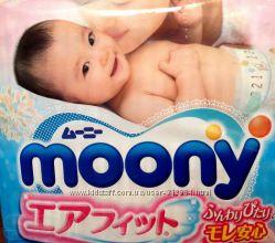 Японские подгузники Moony и подгузники-трусики Nepia
