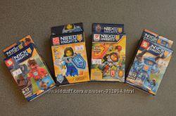 Конструктора из серии Nexo Knights, Ninja, Ninjago в ассортименте