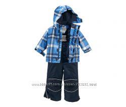Зимний комплект курточка и полукомбез. размер 86-92 Чибо ТСМ TCHIBO