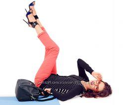 Уценка Slim-fit-джинсы, Коралл . размер евро  36 Чибо ТСМ TCHIBO
