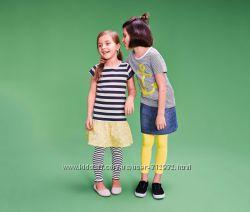 Детские  яркие леггинсы размер 98-104   ТСМ TCHIBO