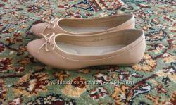 Новые стильные балетки, 39-й размер