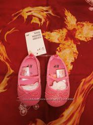 Стильные балетки для маленькой принцессы. Фирма H&M. Размер 14-15