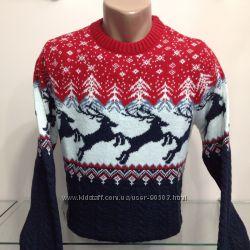 Мужские и женские свитера - скандинавские узоры, Турция