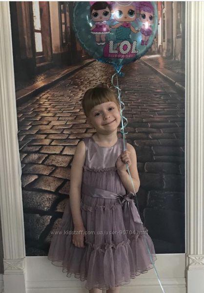 Нарядное пышное платье Pomp de lux 104