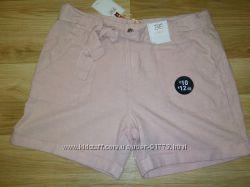 Новые льняные шорты F&F размер 12  46 , 48