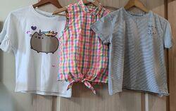 Фирменные футболки Next размер 11/12 лет