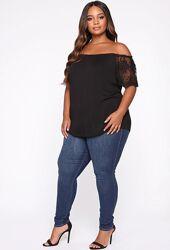 Новые джинсы Skinny FashionNova размер 1Х