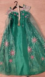 Платье Эльзы Холодное сердце  вторая часть