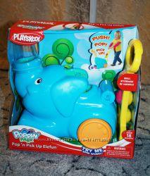 Новая в коробке каталка Playskool Elefun Весёлый слоник