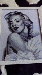Картина бісером  Мерлін Монро