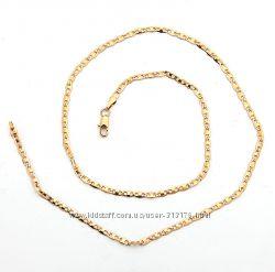 Элегантная, стильная цепочка, покр. золото 18К Gold Filled C149