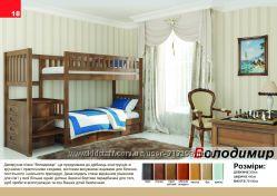 Двохярусне ліжко Володимир