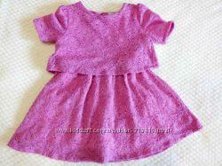 Ажурное платье TU 3-4г.