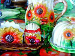 Подарочный набор посуды Подсолнух