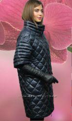 Оригинальное демисизонное пальто оверсайз