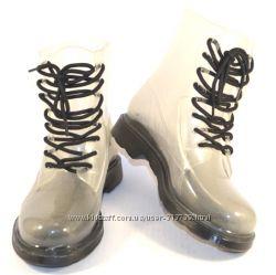 Модные силиконовые ботинки для непогоды