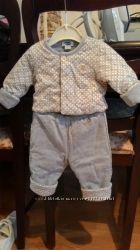 Тёплый костюм CHICCO 62см на 6 мес.