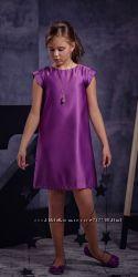 Атласні платтячка прямого покрою на свято, мега класні