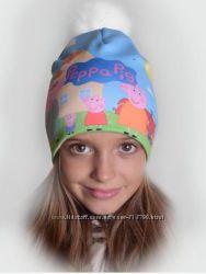 Теплі мультяшні шапочки