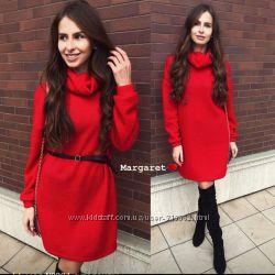 Теплые мягкие платья