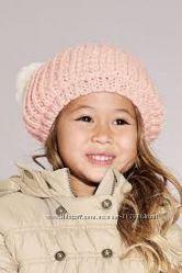 Детский комплект NEXT- шарфик, шапочка и варежки , р. 3-4 годика